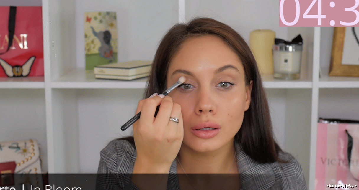 Svetlo make-up za vsak dan, to storite sami
